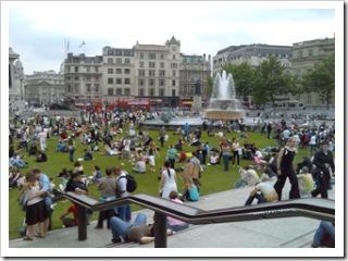 mark hillary - Trafalgar Square