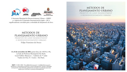 Convite - Lançamento Publicação 2010 português