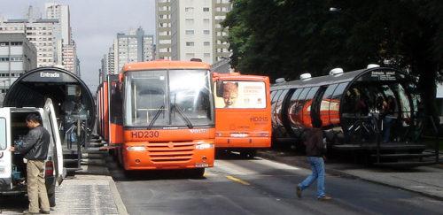Ônibus em Curitiba - Ligeirinho